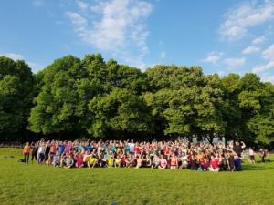 Deutschland trainiert draußen Bonn